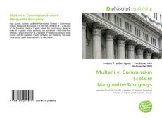 Bookcover of Multani v. Commission Scolaire Marguerite‑Bourgeoys