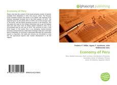 Copertina di Economy of Peru