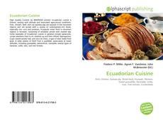 Обложка Ecuadorian Cuisine