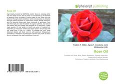 Bookcover of Rose Oil