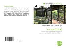 Capa do livro de Canton (Chine)