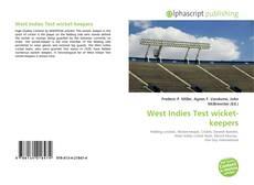Buchcover von West Indies Test wicket-keepers