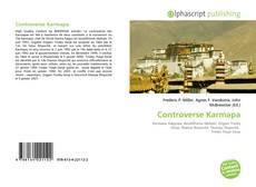 Capa do livro de Controverse Karmapa
