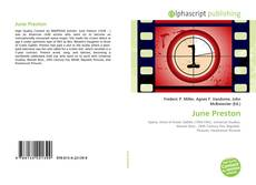 Bookcover of June Preston