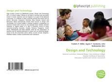 Buchcover von Design and Technology
