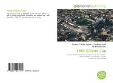 Bookcover of 1963 Gillette Cup