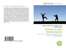 Capa do livro de Brazilian Jiu-Jitsu Ranking System