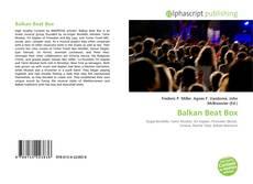 Capa do livro de Balkan Beat Box