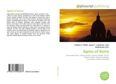 Bookcover of Agnes of Rome