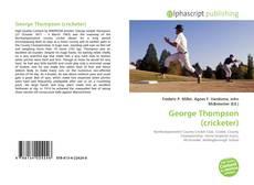 George Thompson (cricketer)的封面