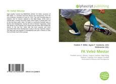 Bookcover of FK Velež Mostar