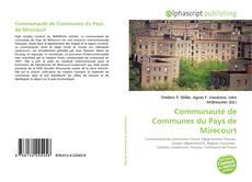 Bookcover of Communauté de Communes du Pays de Mirecourt