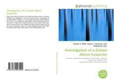 Bookcover of Investigation of a Citizen Above Suspicion