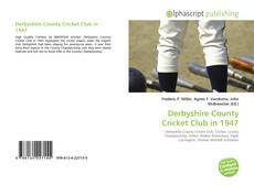 Copertina di Derbyshire County Cricket Club in 1947