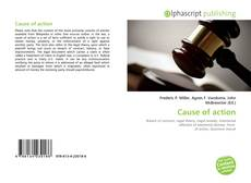 Bookcover of Cause of action