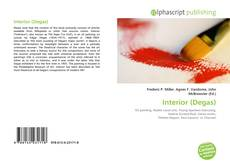Portada del libro de Interior (Degas)