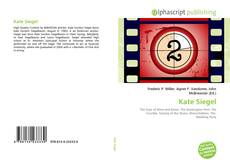 Bookcover of Kate Siegel