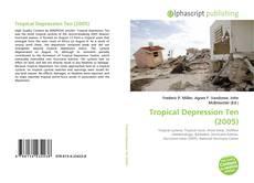 Capa do livro de Tropical Depression Ten (2005)