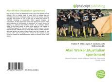 Capa do livro de Alan Walker (Australian sportsman)