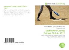 Bookcover of Derbyshire County Cricket Club in 1912