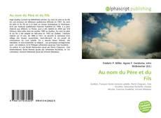 Capa do livro de Au nom du Père et du Fils