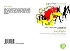 Bookcover of Matt Bayles