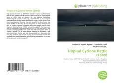 Capa do livro de Tropical Cyclone Hettie (2009)