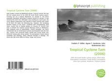Capa do livro de Tropical Cyclone Tam (2006)