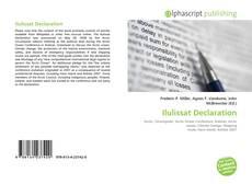 Copertina di Ilulissat Declaration