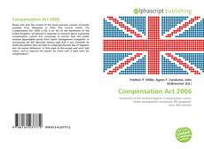 Bookcover of Compensation Act 2006