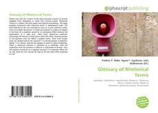 Buchcover von Glossary of Rhetorical Terms