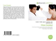 Bookcover of Close Combat