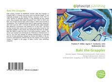 Обложка Baki the Grappler