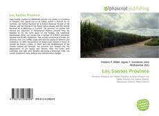 Bookcover of Los Santos Province