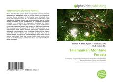 Copertina di Talamancan Montane Forests