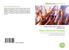 Bookcover of Rock Identitaire Français