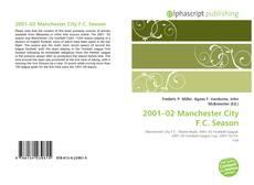 Обложка 2001–02 Manchester City F.C. Season