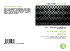 Bookcover of Interaction design pattern