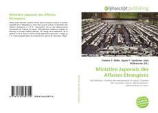 Couverture de Ministère Japonais des Affaires Étrangères