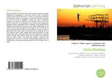 Capa do livro de Chris Pontius