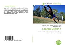 Capa do livro de J. League Division 1