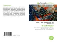 Capa do livro de Threat Display
