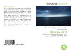 Buchcover von Climat du Loiret