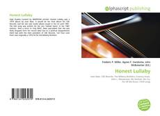 Bookcover of Honest Lullaby