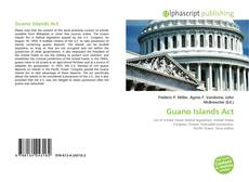 Bookcover of Guano Islands Act