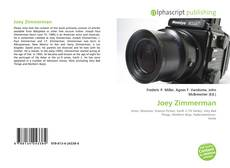 Portada del libro de Joey Zimmerman