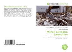 Buchcover von Michael Carrington (voice actor)
