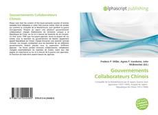 Capa do livro de Gouvernements Collaborateurs Chinois