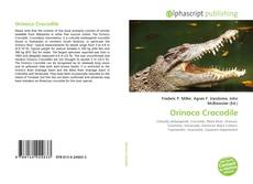 Buchcover von Orinoco Crocodile