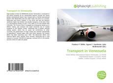 Borítókép a  Transport in Venezuela - hoz